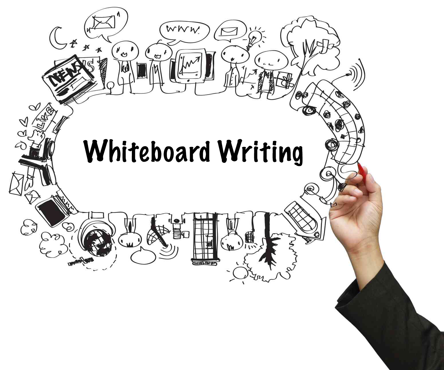 5 simple very useful whiteboard techniques by tom fanelli for Easy whiteboard drawings