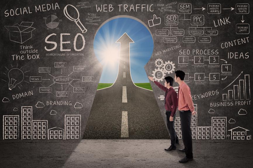 Social Media, Infographics and SEO