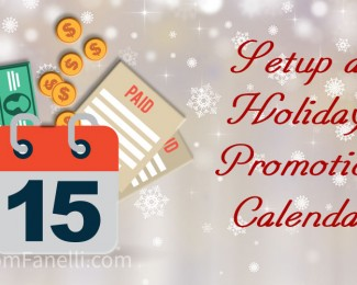 Holiday Promotion Calendar