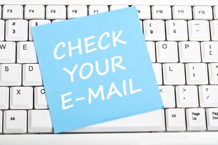 Check e-mail message