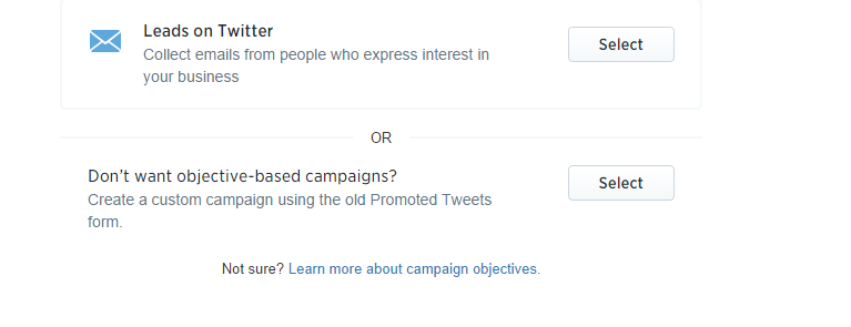 Twitter Tailored Audience Step 2