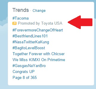 Promoted Trend 2