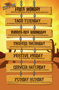 Fanelli_TwistedTaco_Restaurant Specials  Business Infographic